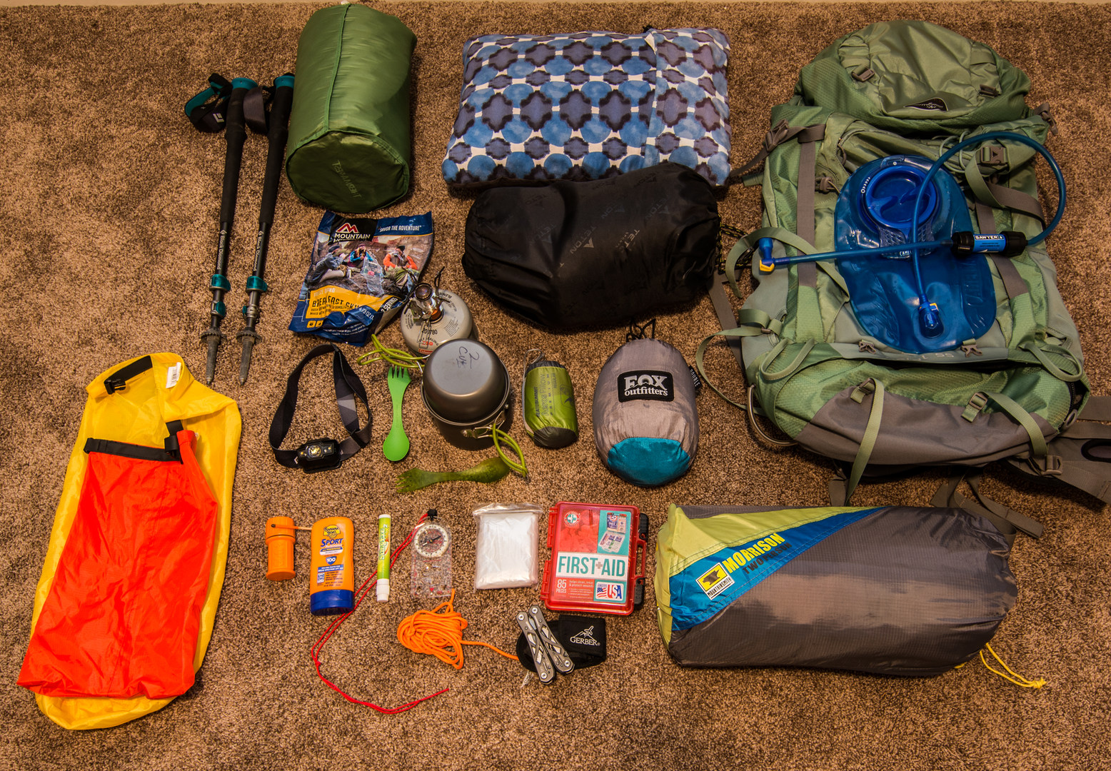 Backpack Pillow Backpacking Essentials For Beginners Outdoor Project