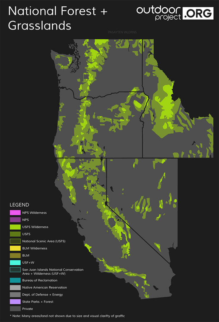US Forest Service Outdoor Project - Us forest service ecoregion map