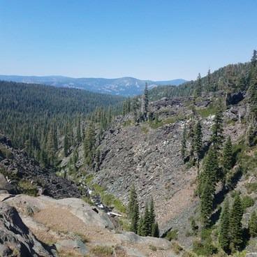 Frazier Creek Gorge- Frazier Falls