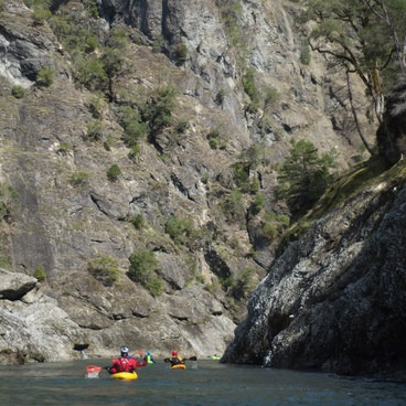 The last gorge section- Illinois River