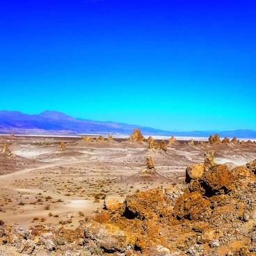 Mars attacks!- Trona Pinnacles