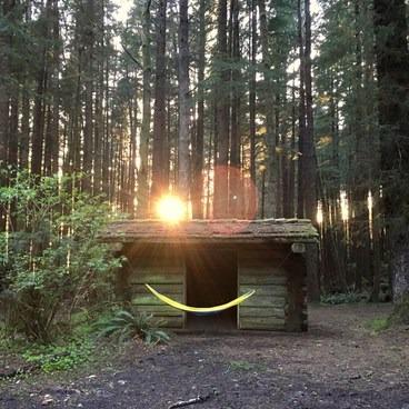 Shelters at Tillamook Head- Tillamook Head Hike