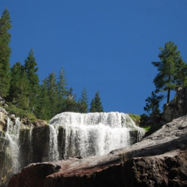 This was August, 2014. The waterfall was still going strong!- Paulina Falls