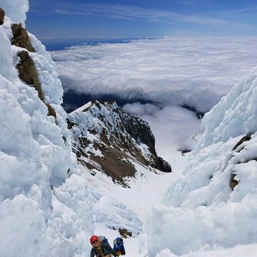 Mount Hood South Route: Pearly Gates