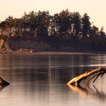 Cutts Island Sunset- Cutts Island Sea Kayaking