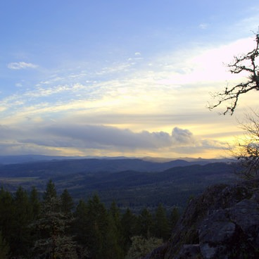 View from Spencer Butte. - Spencer Butte Hike