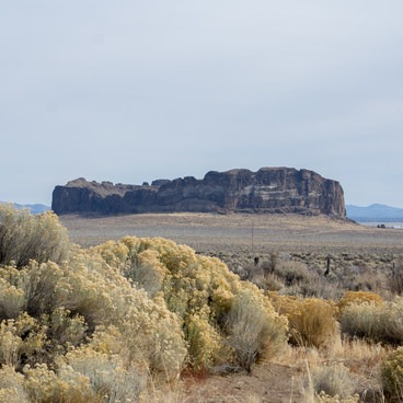 Fort Rock. - Fort Rock State Natural Area