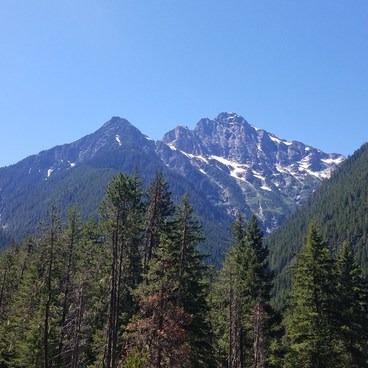 Colonial Peak viewpoint.- Thunder Knob