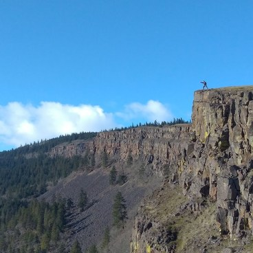 Lewis and Clark n' the Wall!!!- Coyote Wall Hiking Trail