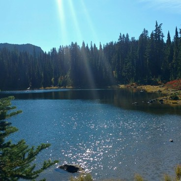 Deep Lake- Cultus Creek to Lemei Rock