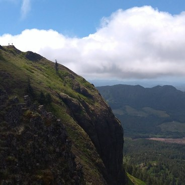 View from the Summit- Saddle Mountain