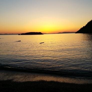 sunset 5/27/17- Rosario Beach, Deception Pass State Park