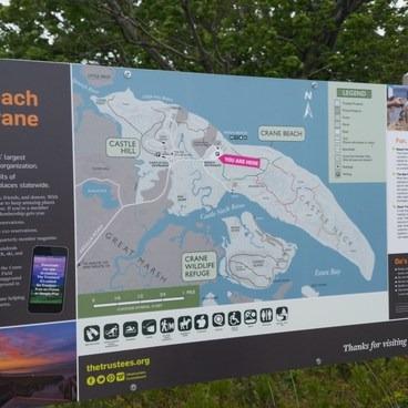You are here...- Crane Beach + Crane Wildlife Refuge