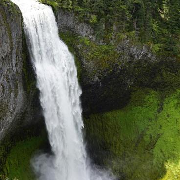 Salt Creek Falls, from viewing deck- Salt Creek Falls