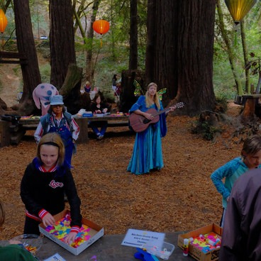 Old Mill Park's September Fall Arts Festival- Mill Valley's Old Mill Park and the Dipsea Steps