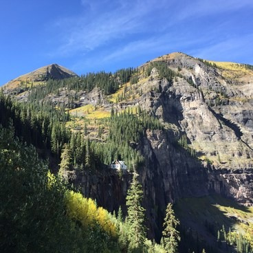 Bridal Veil Falls & Power Station- Bridal Veil Falls, Telluride