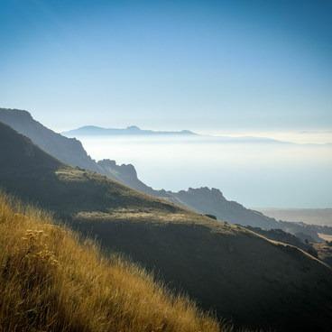 Looking west from Frary Peak- Antelope Island State Park