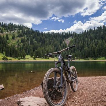 Desolation Lake- Desolation Lake Mountain Bike Ride