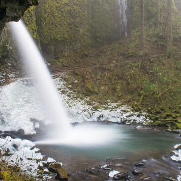 Ponytail Falls- Horsetail, Ponytail + Triple Falls Hike