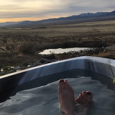Hand-Me-Down Creek Hot Spring