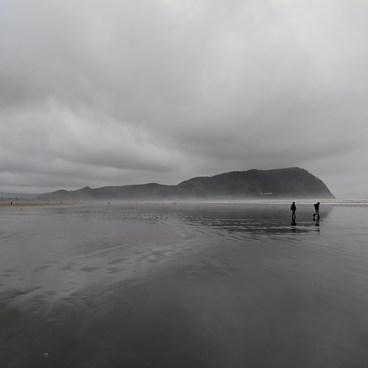 From the beach- Tillamook Head Hike