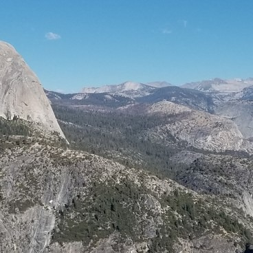 Panorama Trail via Glacier Point