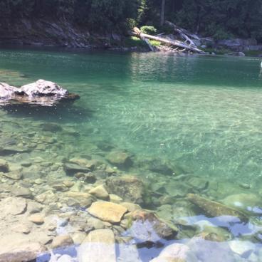 Eagle Falls Swimming Hole