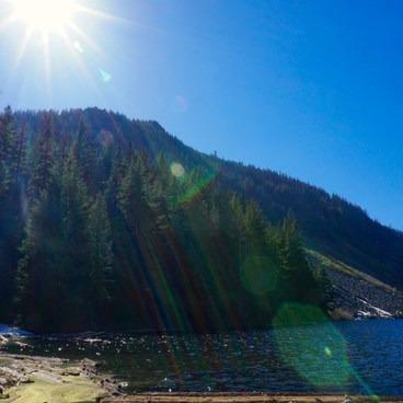 Left side of Talapus Lake- Talapus Lake