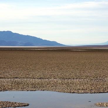 The salt flats- Badwater Basin