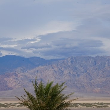 View from the Resort- Death Valley National Park