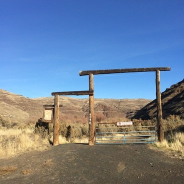 Lost Corral Trailhead- Cottonwood Canyon State Park