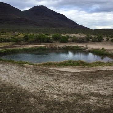 Biggest pool- Mickey Hot Springs
