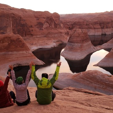 Before sunrise- Reflection Canyon