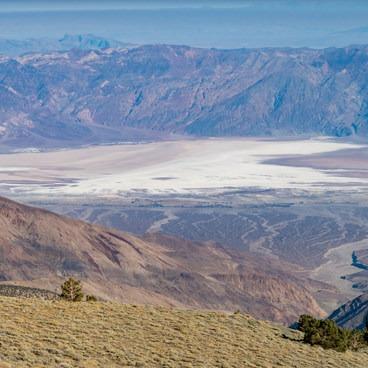 Telescope Peak from Mahogany Flat- Mahogany Flat