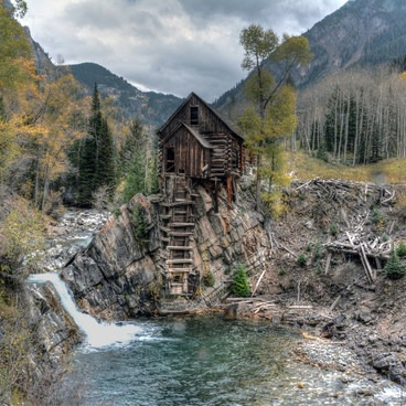 Typical shot everyone takes- Crystal Mill