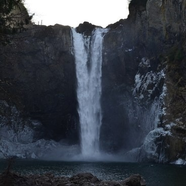 View from Below- Snoqualmie Falls