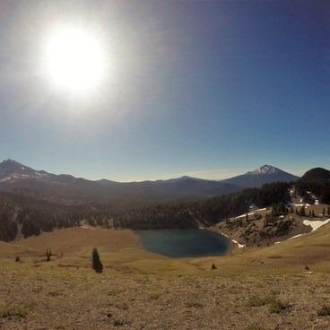 Broken Top, Bachelor, and Moraine Lake- South Sister Hike