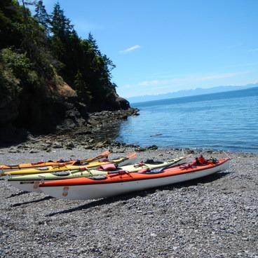 Deadman bay- San Juan Island, Sea Kayaking Smallpox Bay to Deadman Bay