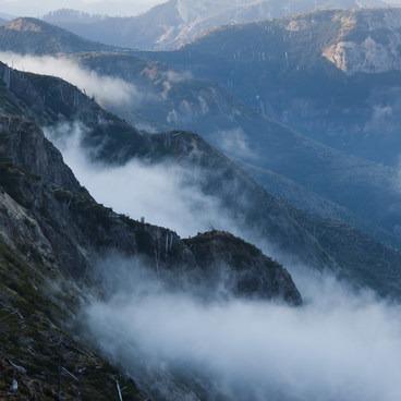 Spirit lake clouds- Mount Margaret via Norway Pass