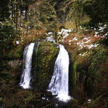 Upper Elowah Falls- Elowah Falls HIke