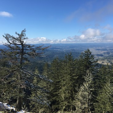 Spencer Butte View- Spencer Butte Hike