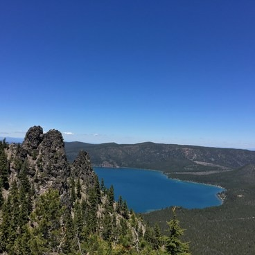 Paulina Peak Hiking Trail