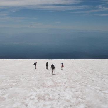 Infinity snow field!- Mount Adams, South Climb