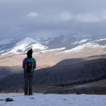 Unbeatable views of the Gardner Canyon from the Beaver Ponds Trail. - Beaver Ponds Loop