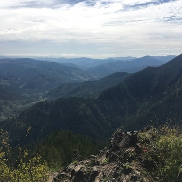 View from Elk Mountain- Elk Mountain to Kings Mountain Traverse
