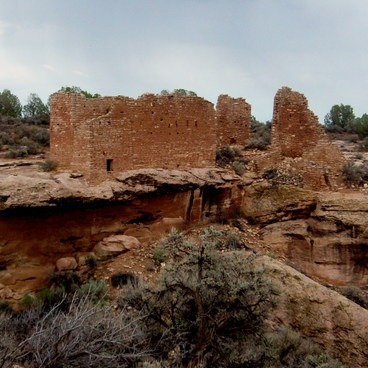 Pictures where taken July 2014.- Hovenweep National Monument