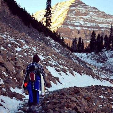 Mount Timpanogos via Aspen Grove