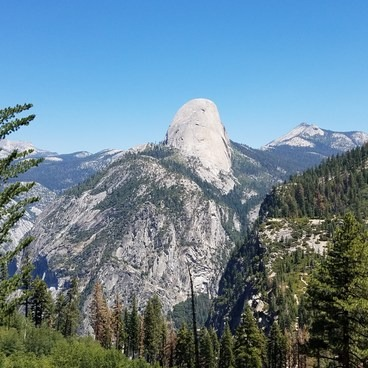 Half Dome from Panorama Trail- Yosemite National Park