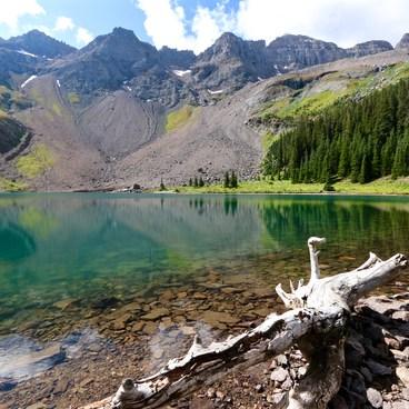 Lower Blue Lake, San Juan Mountains- Blue Lakes Trail Hike to Lower Blue Lake