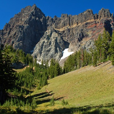 The high meadows just below timberline.- Canyon Creek Meadows